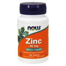 Витамины NOW Zinc Gluconate 50 mg 100 таб